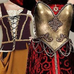 Mittelalter Kleider Damen