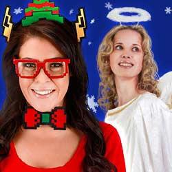 Weihnachten Weihnachtskostume Weihnachtliche Kostume Ideen