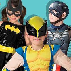 Superheldenkostüme für Kinder