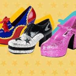 70er Jahre Schuhe
