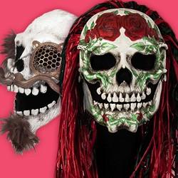 Masken aus Leder