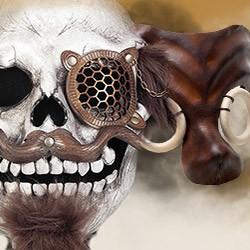 Steampunk Masken