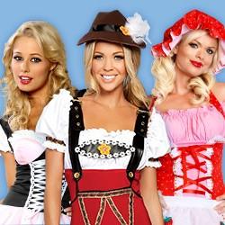 Sexy Dirndl: Trachten Kostüme & sexy Oktoberfest Dirndl