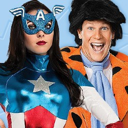 Official Cartoon & Comics Costumes