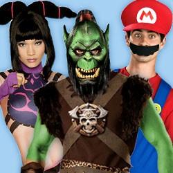 Original Videogames & Spiele Kostüme