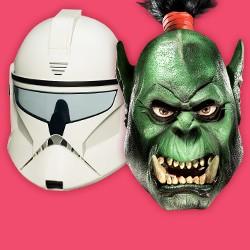 Fantasy. Movie & Officially Licensed Masks