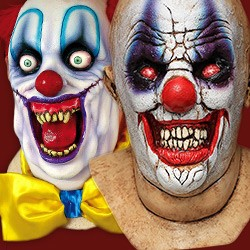 horror clown masks - Scary Halloween Masks Images