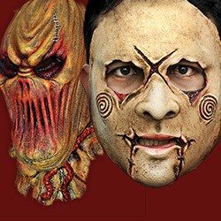 Horror. Monster, Slipknot & Halloween Masks