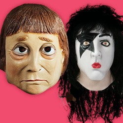 Celebrity. Politicians. Masks