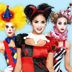 Sexy Clown Costumes