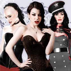 Gothic Kleidung für Damen