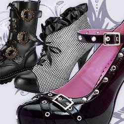 Gothic Schuhe & Stiefel