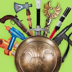 Treffsicheres Sortiment: Original Star Wars und Star Trek Waffen, historische Dekowaffen, Polsterwaffen und Spielzeugwaffen - große Auswahl und Top Service.