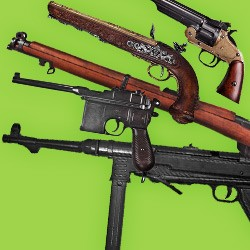 Aim and fire! for the realistic replicas of elegant firearms in TOP quality. Wide range of steampunk firearms and classical models.