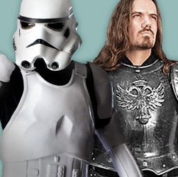 Whether for LARP or the next Star Wars con. you'll find fantasy-inspired armor or armor from movies here!