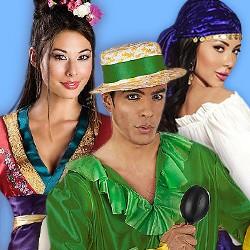 Exotische Kostüme: Kostüme aus aller Welt versandkostenfrei bestellen