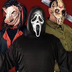 Halloween Horror Kostüme, Kostüme aus Horrorfilmen, Horrorfilm Kostüme, Halloween Lizenzprodukte, Horrorfilm Fanartikel, Horrorfilm Kostüme Damen