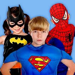 Superhelden-Kinderkostüme, Superhelden Faschingskostüme für Kinder