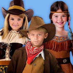 Kinderkostüme, Westernkostüme für Kinder