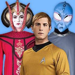 Science Fiction Kostüme: Star Wars, Star Trek & andere Sci-Fi Kostüme