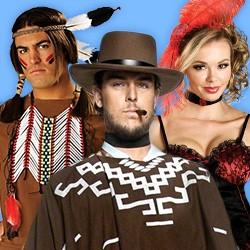 Wilder Westen: Wild West Western Kostüme für Indianer, Cowboys, Cowgirls