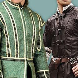 Mittelalterliche & Historische Doublets & Wamse