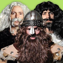 Full beards: buy fake beard & wig sets