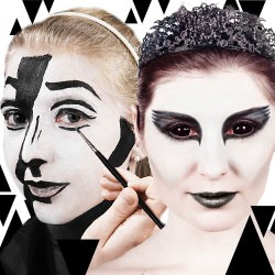 Black And White Party Kostüme Und Accessoires Maskworldcom