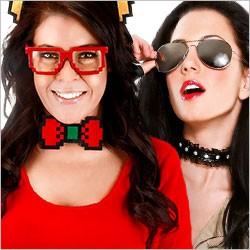 Faschingsbrillen, Karnevalsbrillen, Brille für Fasching