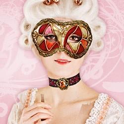 Original Venetian Carnival Masks - Colombina