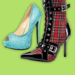 Damenschuhe, Schuhe für Damen, außergewöhnliche Damenschuhe
