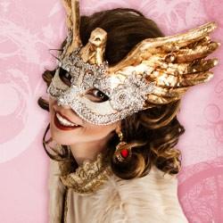 Original Venezianische Masken - zur Dekoration, Dekorationsmasken, Dekomasken