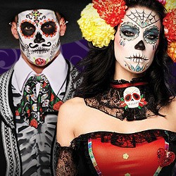 Dia de los Muertos Kostüm, Dia de los Muertos Kostüm Damen, Dia de los Muertos Kostüm Herren, Dia de los Muertos Kostüm günstig, Skelett Kostüm, Dia de los Muertos Kostüm für Kinder, Kinderkostüm Dia de los Muertos, Dia de los Muertos Kostüm Mann