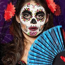 Dia de los Muertos Accessoires,  Halloween Skelett Krawatte, Skelett Schuhe, Halloween Skelett Handschuhe, Skelett Accessoires