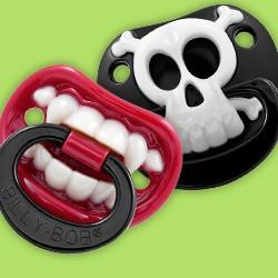 Lustige Baby Schnuller & Nuckel mit Zähnen (Babyschnuller, Babynuckel)