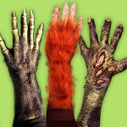 Monster Hands & Claws: Hände für Monster. wie Wolf. Werwolf. Alien