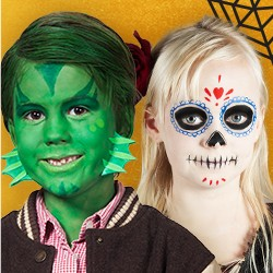 Kids Make-up for halloween and kids carnival