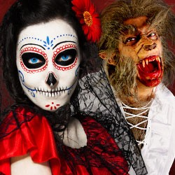 Halloween Make-up Shop, Halloween Schminke, Horror Make-up & SFX, Halloween Schminke, Halloween Make-up, Halloween Kontaktlinsen, halloween Wunden, Halloween Tattoos, Horror Zähne, Vampirzähne, Kunstblut