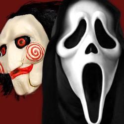 Horrorfilm-Masken