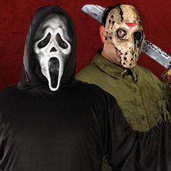 Halloween Horror Kostüme kaufen, Kostüme aus Horrorfilmen, Horrorfilm Kostüme, Halloween Lizenzprodukte, Horrorfilm Fanartikel, Horrorfilm Kostüme Damen