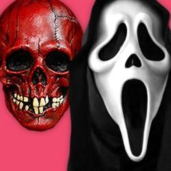 Halloween Masken, Horrorfilm Masken, Horrorclown Masken, Zombie Masken, Vampir Masken, Halloween Kindermasken, Horror latex Masken, Halloween Latex Masken, Halloween Augenmaske, Dämonen Masken, Skelett Maske, Totenkopf Masken