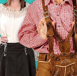 Hemden & Blusen für Karneval, Halloween und LARP