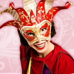 Original Venezianische Masken - Jolly Masken