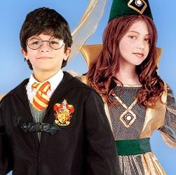 Fantasy-, Feen- & Zauberer-Kinderkostüme