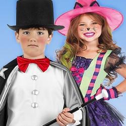 Hexen- und Zauberer-Kostüme für Kinder