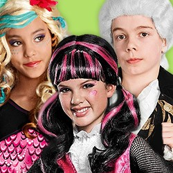 Wigs for Kids: buy Carnival wigs for kids