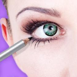 Eyeliner & Lip Liner: Kohl pencils & eyeliner pencils