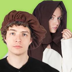 Mittelalter- und Renaissance Kopfbedeckungen