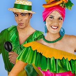Pacific Islander & Samba