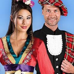 Exotische Kostüme, Südamerikanische Kostüme, Faschingskostüme,Fasnet Kostüme, Orientalische Kostüme, Kostüme für Fasching